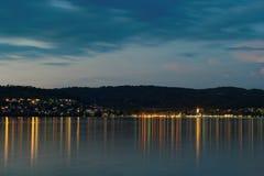 Lake Constance Arkivbild