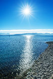 Lake constance alps Royalty Free Stock Images