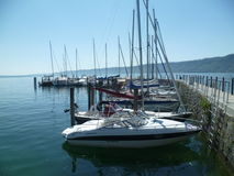 Lake Constance Harbor Stock Image
