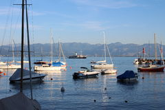Lake Constance Harbor Stock Photography