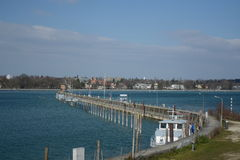 Lake Constance Harbor Royalty Free Stock Image