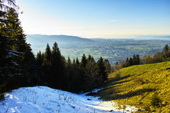 Lake Constance landscape aerial view Royalty Free Stock Photography