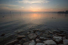 Lake constance sunset Royalty Free Stock Photo