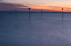 Lake constance sunset Stock Images