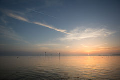 Lake constance sunset Royalty Free Stock Images