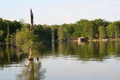 Lake Conway, Arkansas, USA Stock Photos