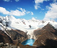 Lake in Cordilleras Stock Images
