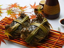 Lake crab. Traditional Chinese cuisine, Chinese products, Asian cuisine, lake crabs, classic cuisine Royalty Free Stock Image
