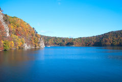 Lake. A crater lake in Jilin Province, China Stock Images