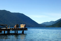Lake Crescent Royalty Free Stock Photography