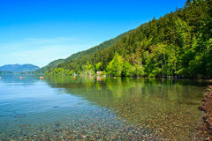 Lake Crescent, Olympic National Park, Washington Royalty Free Stock Image