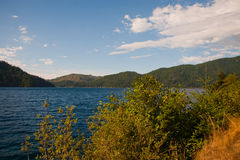 Lake Crescent Stock Images