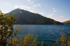 Lake Crescent Stock Photo