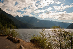 Lake Crescent Royalty Free Stock Image