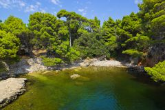 Lake at Croatia Royalty Free Stock Photography