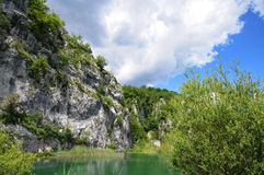 The lake in Croatia. Stock Images