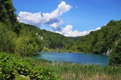 The lake in Croatia. Royalty Free Stock Image