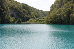 Lake in croatia Royalty Free Stock Photos