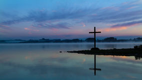 Lake Cross Royalty Free Stock Photo