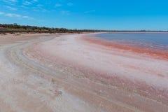 Lake Crossbie salty beach Royalty Free Stock Image