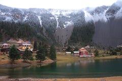 Lake Cuoka. This is Lake Cuoka on a mountain, Xinlong, Sichuan, China royalty free stock photography