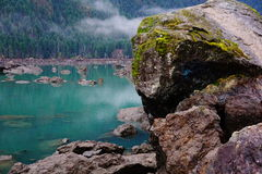 Lake Cushman stock photography
