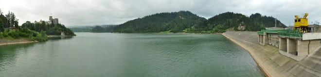 Lake Czorsztyn royalty free stock image