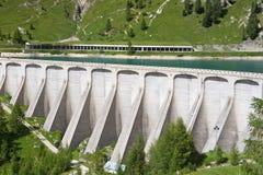 Lake dam Royalty Free Stock Photo