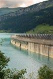 Lake and dam Royalty Free Stock Image
