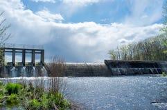 Lake Damn Waterfall Royalty Free Stock Image