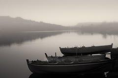 A lake at dawn Stock Photo