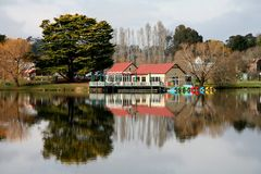 Lake daylesford. In victoria, australia Stock Photography
