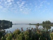 Lake De Geeuw morgens Stockfoto