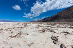Lake in Death Valley Royalty Free Stock Photos