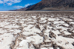 Lake in Death Valley Royalty Free Stock Photography