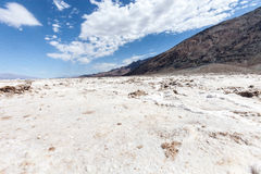 Lake in Death Valley Stock Image