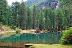 Lake del Pellaud Royalty Free Stock Photo