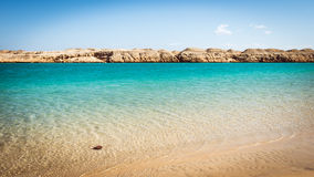 Lake of desires in Ras Mohamed National Park Royalty Free Stock Images