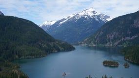 Lake Diablo, Washington State, USA Royalty Free Stock Photos