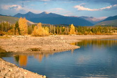 Autumn in Lake Dillon Colorado Royalty Free Stock Photos