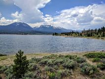 Lake Dillon. In Colorado on a nice day stock image