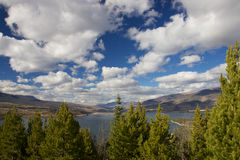 Lake Dillon. View to Lake Dillon from Sapphire Point Trail royalty free stock photo