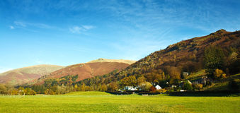 Lake district hills Royalty Free Stock Photo