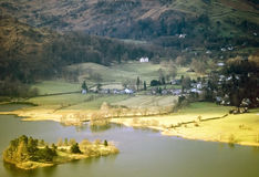 Lake district. National park cumbria england uk - grasmere Royalty Free Stock Photo