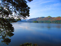 Lake District. View from lake side in Lake District, Cumbria, England Stock Photography