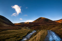 Lake district. Amazing landscape under the fells in lake district, CUmbria, North of England Stock Images