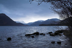 Lake District. Ullswater in the Lake District National Park, in Cumbria, England Stock Images