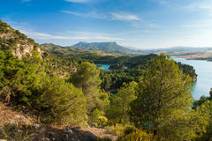 Lake district in Andalusia Stock Photos