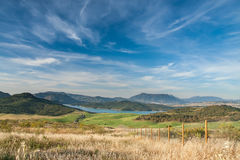 Lake district in Andalusia Stock Photography