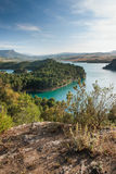 lake district in Andalusia Spain Royalty Free Stock Image